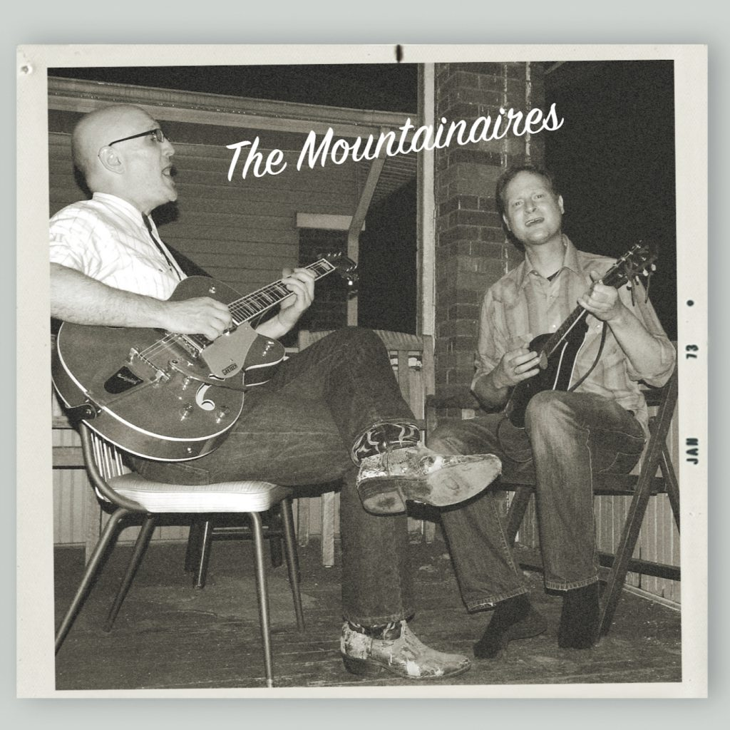 The cover art for the debut CD from the Mountainaires. Cover art by Tony Nuccio. Cover photo by Kenneth Rainey.